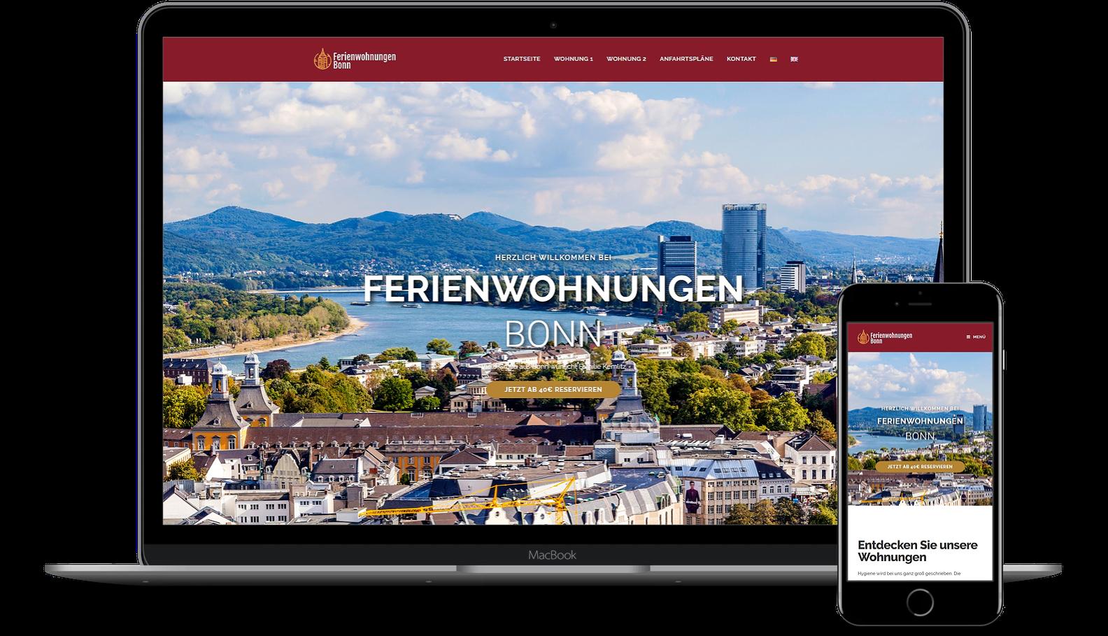 Webseite für Hotel erstellen lassen