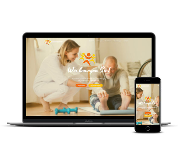 Physiotherapie - Physiotherapeut - Website erstellen lassen